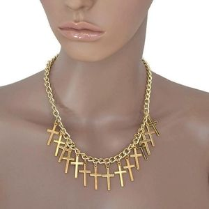 Jewelry - 🌹3for$20 Gold  Cross Necklace New